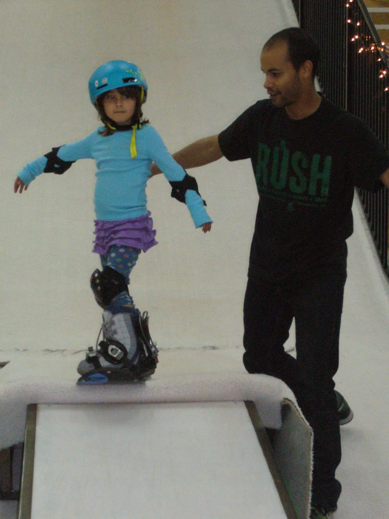 OFF-SNOW SNOWBOARDING LESSONS